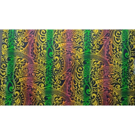 June Fabrics BQ-11-788R RASTA