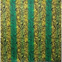 June Fabrics BQ-11-788R GREEN-YELLOW