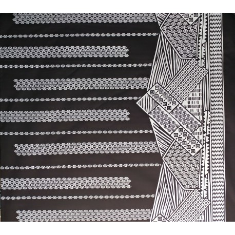 June Fabrics LW-16-493 WHITE-BLACK