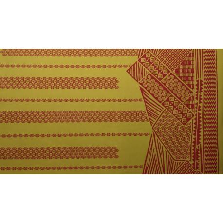 June Fabrics LW-16-493 YELLOW-RED