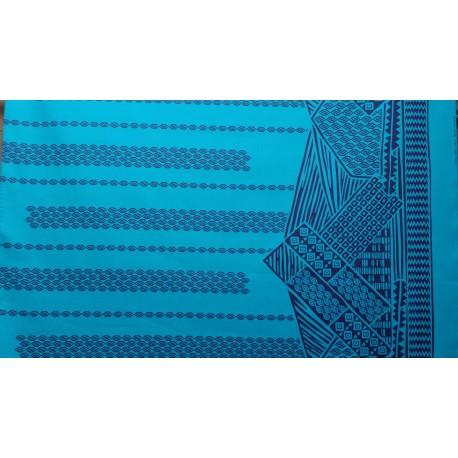 June Fabrics LW-16-493 NAVY-TURQ