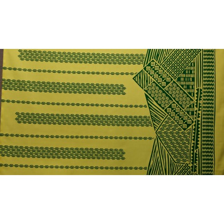 June Fabrics LW-16-493 GREEN-YELLOW