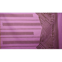 June Fabrics LW-16-493 PURPLE-BLACK