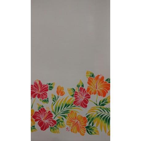 June Fabrics ZGQ-17-11 WHITE