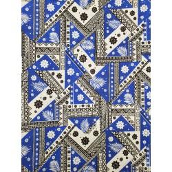 June Fabrics BQ-18-1100 BLUE