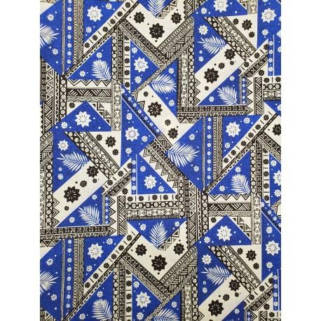 June Fabrics BQ-81-1100 BLUE