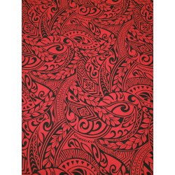 June Fabrics BQ-11-788R RED-BLACK