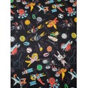 Cotton Tokyo Cartoon Characters Black