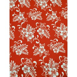 Cotton Flannel Print Red
