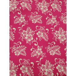 Cotton Flannel Print Pink