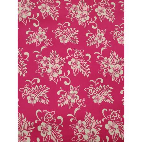 Cotton Flannel Print Pink