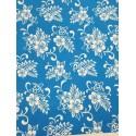 Cotton Flannel Print Blue
