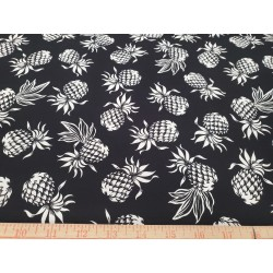 Cotton Pineapple Black
