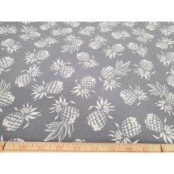 Cotton Pineapple Grey