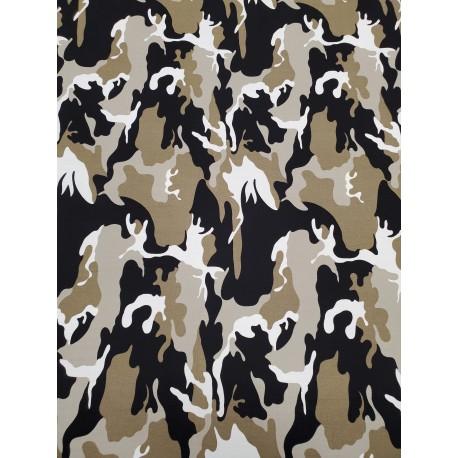Cotton Camouflage Khaki