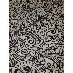 June Fabrics BQ-11-788R BEIGE-BLACK