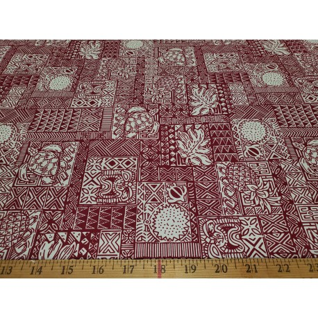Cotton Classic Hawaii Red