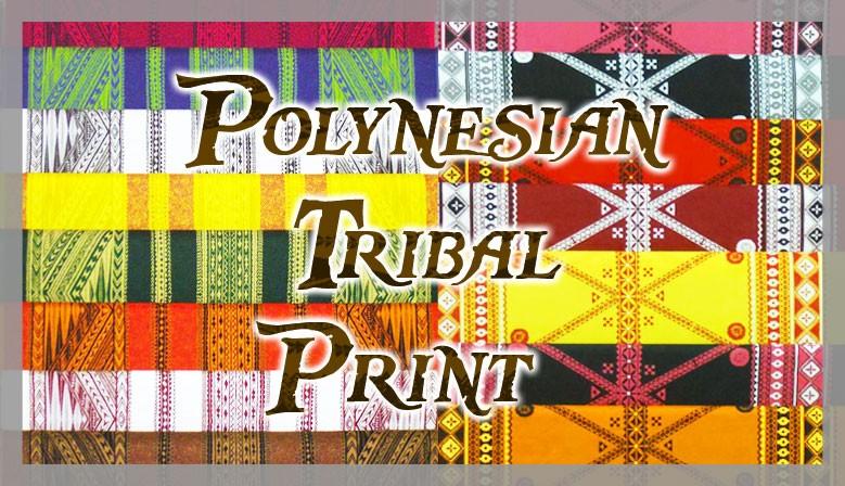 POLYNESIAN TRIBAL PRINT